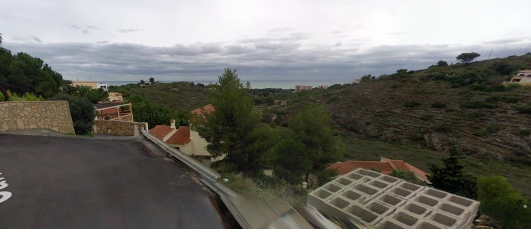 DENIA-SALE OF SOLAR WITH VIEW TO THE SEA