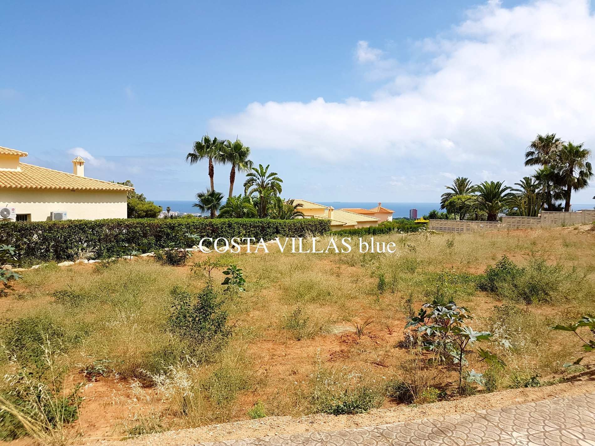 DENIA - PLOT WITH SEA VIEWS  FOR SALE